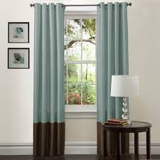 amazon com lush decor prima window curtain panel pair 84 inch x