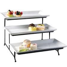 tiered serving stand porcelain 3 tier serving tray rectangular dessert stand serving