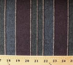 medium heavy chamois brushed flannel stripes purple blue cotton