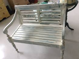 bench chalk paint bench vanity bench makeover bees in a pod grey