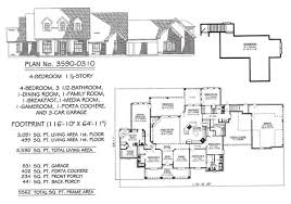 Media Room Plans - 4 bedroom 1 story 2901 3600 square feet