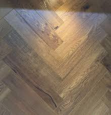 Herringbone Laminate Flooring Holborn Smoked Natural Oak Herringbone 12mm