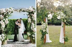 wedding ceremony arch floral ceremony arches