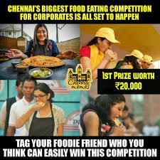 Fast 6 Meme - chennai memes chennai s biggest foodie challenge all facebook