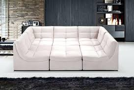 Stacey Leather Sectional Sofa 6 Modular Sectional Sofa For 6 Modular Fabric