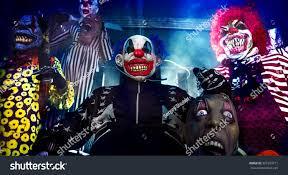 halloween party scary clowns horror clown stock photo 325703711