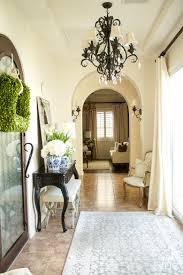 one room spring tour entryway by randi garrett design