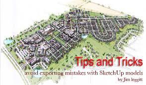 tips u0026 tricks sketchup 3d rendering tutorials by sketchupartists