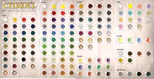 chart full color mixing chart