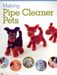 twist bend and shape pipe cleaners into 23 different dog breeds