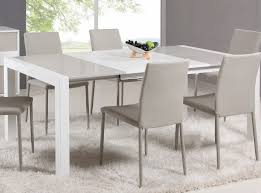 white dining room table extendable white expandable dining table home design ideas make an