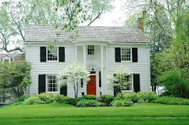 the most popular exterior shutter colors painted black shutters