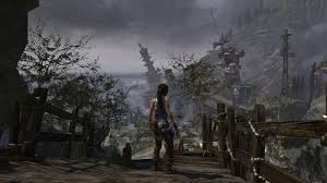 tomb raider a survivor is born wallpapers lara croft survivor is born shipwreck view screenshoot lara