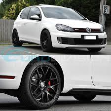 black volkswagen golf volkswagen golf gtc wheels performance alloy wheels euro