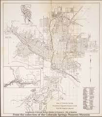 Colorado Springs Colorado Map by Map And Blueprint Collections Colorado Springs Pioneers Museum