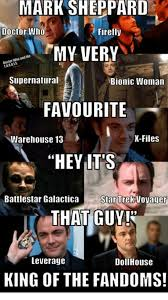 Battlestar Galactica Meme - mark sheppard doctor who firefly my very ani the supernatural bionic