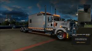 kenworth truck repair ets 2 kenworth w900 long 2000hp 1hr 20 journey youtube