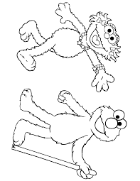 zoe elmo coloring u0026 coloring pages