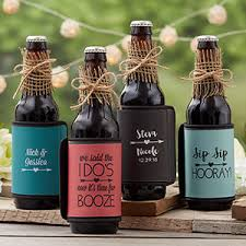 wine bottle wraps personalized coozies wedding can bottle wraps