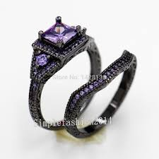 black and purple engagement rings search on aliexpress by image