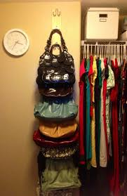 Diy Ideas For Small Spaces Pinterest 25 Best Purse Storage Ideas On Pinterest Handbag Organization