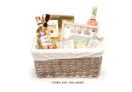 willow basket with lining basket or gift pack your gift basket
