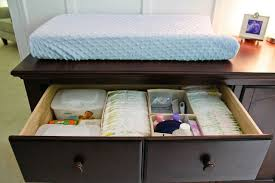 Do I Need A Changing Table Do You Organization Tips For A Baby Nursery The Clark Family