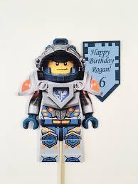 lego nexo knight cake topper kids birthdays pinterest knight