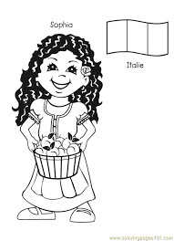 free printable coloring page from around the world 012