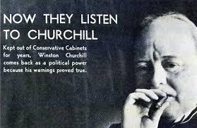 now they listen to churchill sir martin gilbert