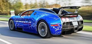 blue bugatti bugatti veyron lightning wrap by cam shaft for gemballa