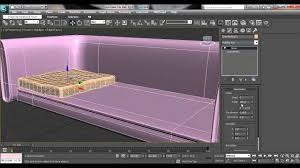 3ds max house modeling tutorial how to model couch sofa for