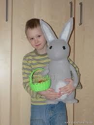 paper mache easter bunny papier mache easter bunny 10 paper mache 1 papier