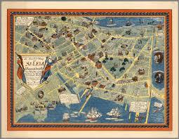 Massachusetts Map A Scott Map Of Salem Massachusetts David Rumsey Historical Map
