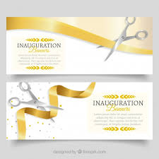 inauguration advertisement sample opening invitation vectors photos and psd files free download