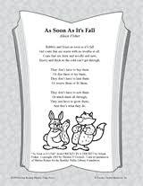 as soon as it u0027s fall poetry pack teachervision