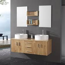 bathroom unfinished wood modern bathroom floating vanity with