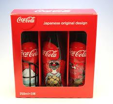 Six Flags Coca Cola Boxed Set Japanese Original Design Happy New Year 2016 Coca Cola