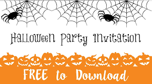 halloween party invitation u2026 free download u2026