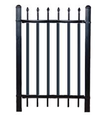 louver privacy fence panel picket slats for ornamental steel and