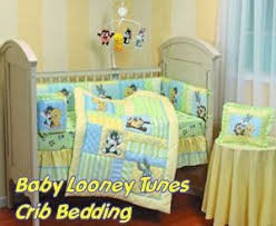 baby looney tunes baby crib bedding set and nursery decor with