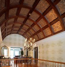 Ceiling Tile Painting Ideas by 18 Best Coffered Images On Pinterest Tin Ceilings Tin Ceiling