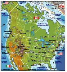 map usa and canada maps of america johomaps