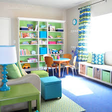 ideas for basement family room toy storage and organization