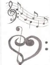100 music notes and stars tattoo designs love in music