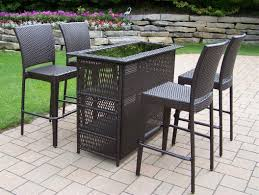 Bar Height Patio Table And Chairs Furniture Patio Bar Outdoor Patio Bar Furniture Outdoor Bar