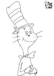 dr seuss hat template free dr seuss coloring pages printable printable free cat in the hat