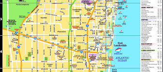 Glacial Drumlin Trail Map Fort Lauderdale Tourist Map Fort Lauderdale Tourist Attractions