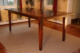 Free Wood Table Plans by Dining Room Table Plans Provisionsdining Com