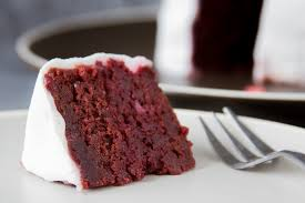 my beetroot red velvet heart icing sugar